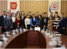 Встреча «без галстуков» крымского студенчества с Вице-премьером Пашкуновой Аллой Николаевной