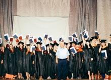 Университет экономики и управления провел торжественную церемонию вручения дипломов